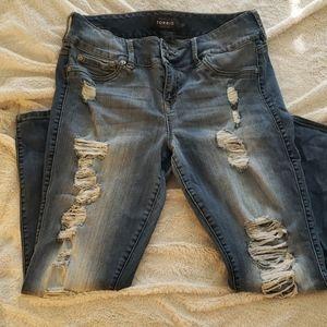 Torrid Premium Ripped Jeans
